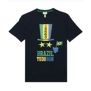 Adidas NEO Brazil Tudobom Tshirt